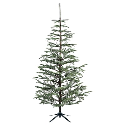 VINTER 2020 Konstgjord växt, inom-/utomhus/julgran grön, 210 cm