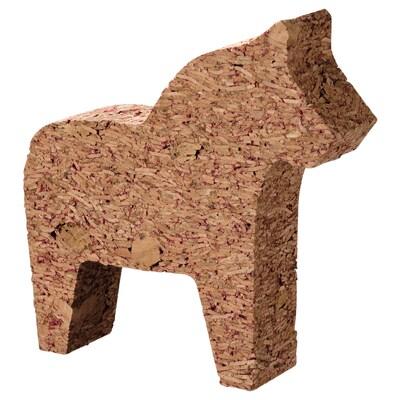VINTER 2021 Dekoration, häst kork