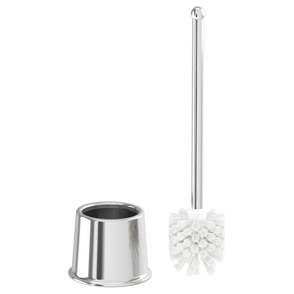 VOXNAN Toalettborste, kromeffekt