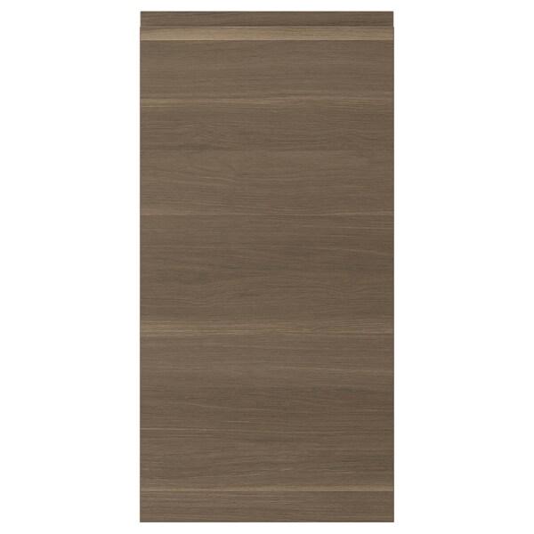 VOXTORP Dörr, valnötsmönstrad, 40x80 cm