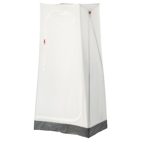 VUKU garderob vit 74 cm 51 cm 149 cm