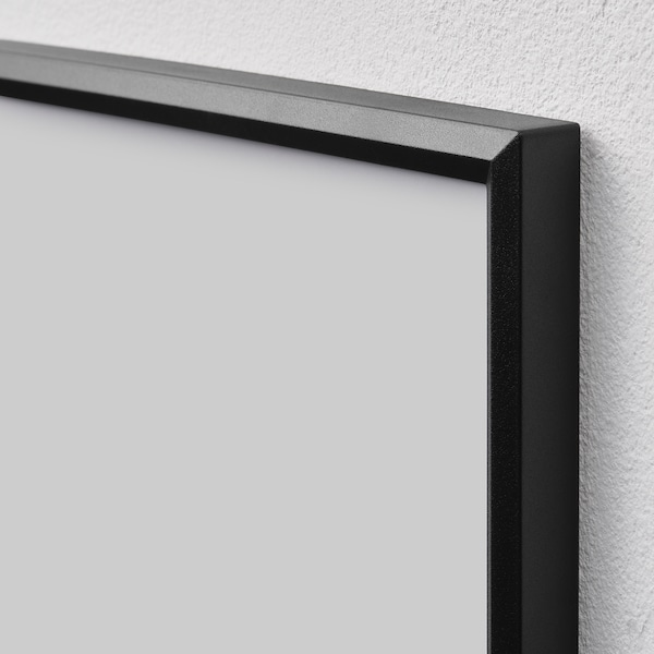 YLLEVAD Ram, svart, 21x30 cm