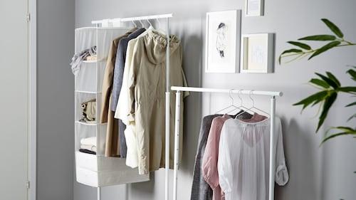 Klädhängare & klädställningar