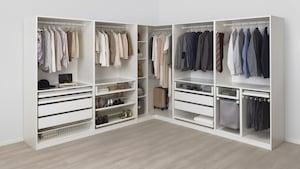 Walk-in garderober