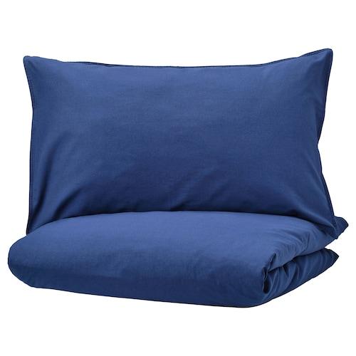 IKEA ÄNGSLILJA Quilt cover and 4 pillowcases