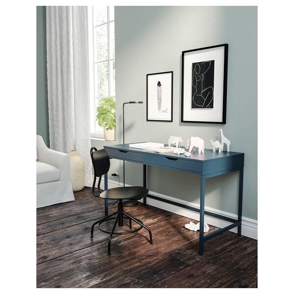 Alex Desk Blue Ikea