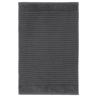 ALSTERN Bath mat, dark grey, 40x60 cm