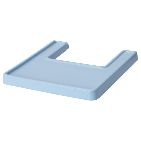 ANTILOP Highchair tray, light blue
