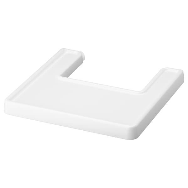 ANTILOP Highchair tray, white
