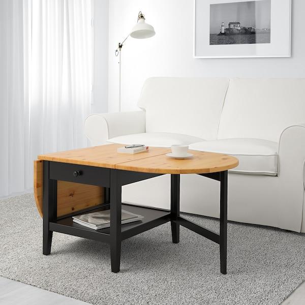 ARKELSTORP Coffee table, black, 65x140x52 cm