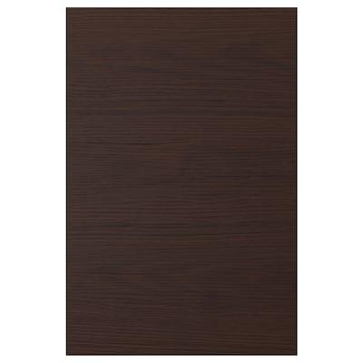 ASKERSUND Door, dark brown ash effect, 40x60 cm