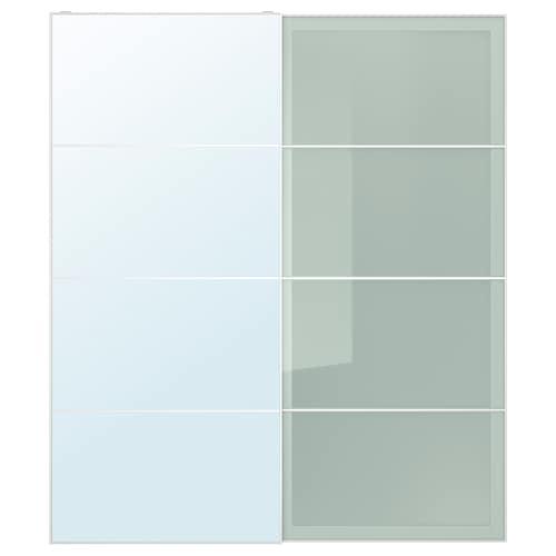 IKEA AULI / SEKKEN Pair of sliding doors