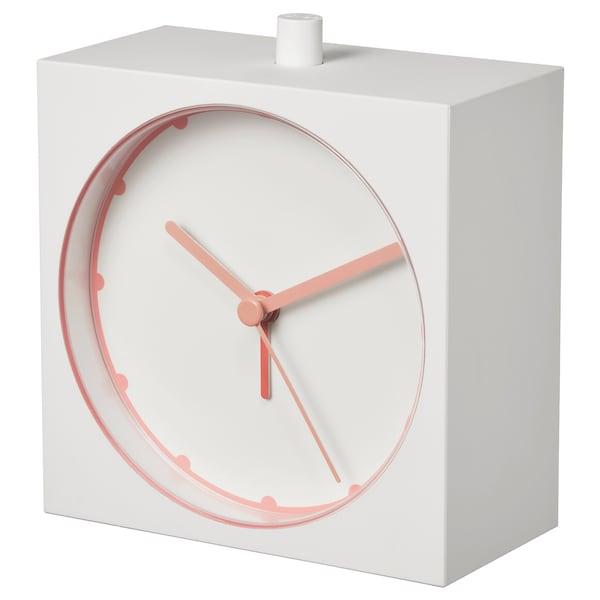 BAJK Alarm clock, white, 5x11 cm