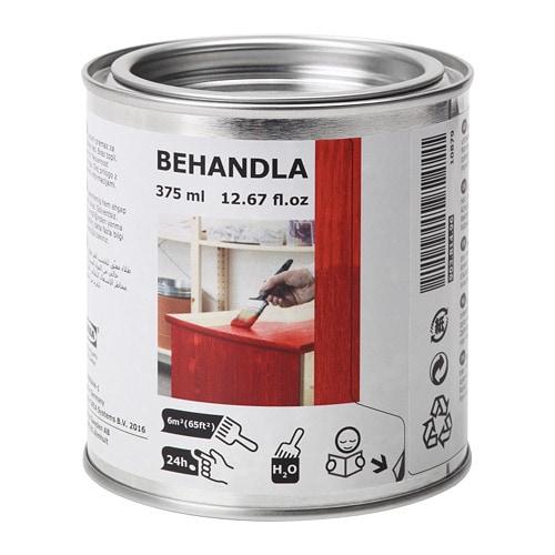 BEHANDLA Glazing paint - red - IKEA