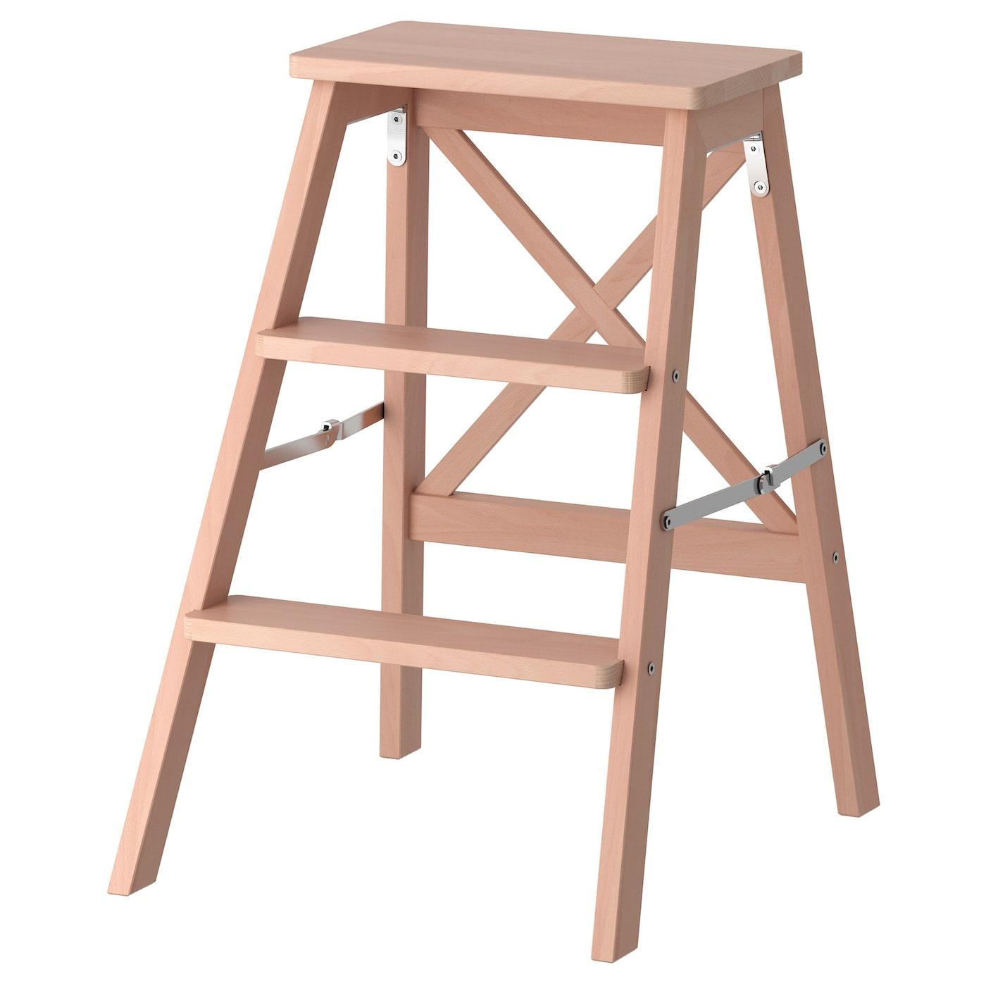 BekvÄm Stepladder 3 Steps Beech Ikea