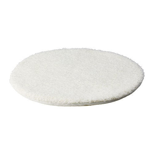 BERTIL Chair pad IKEA Polyurethane foam provides great comfort and long-lasting support.  The anti-slip backing keeps the chair pad firmly in place.