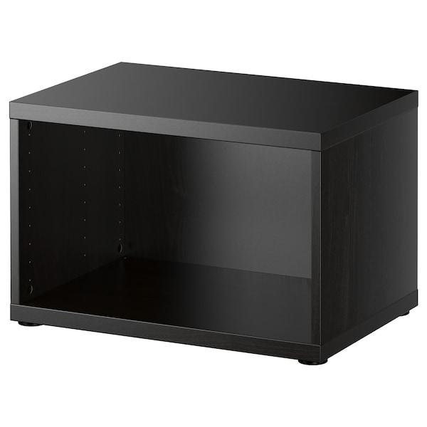 BESTÅ Frame, black-brown, 60x40x38 cm