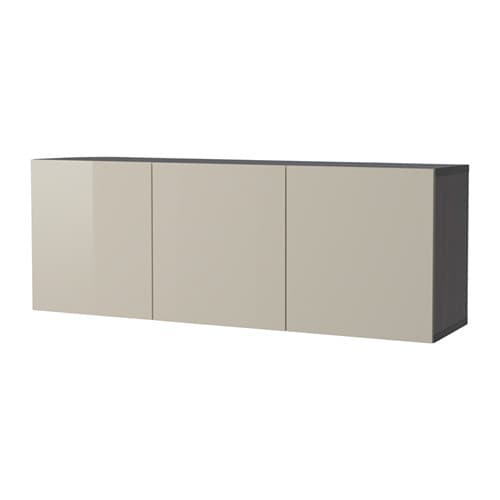Ikea Kitchen Wall Storage: BESTÅ Wall-mounted Cabinet Combination