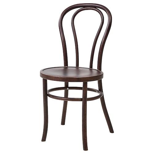BJURÅN chair dark brown stained 42 cm 52 cm 88 cm 41 cm 41 cm 46 cm
