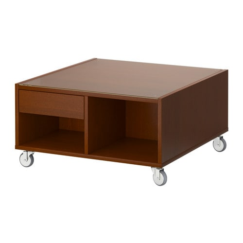 Boksel coffee table medium brown ikea - Ikea coffee table singapore ...