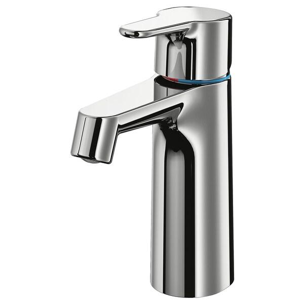 BROGRUND Wash-basin mixer tap with strainer, chrome-plated