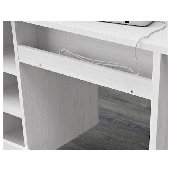 BRUSALI desk white 90 cm 52 cm 73 cm