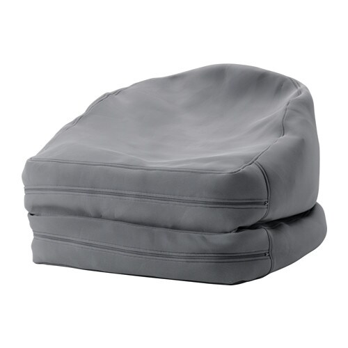 Bussan beanbag in outdoor grey ikea - Fauteuil orange ikea ...