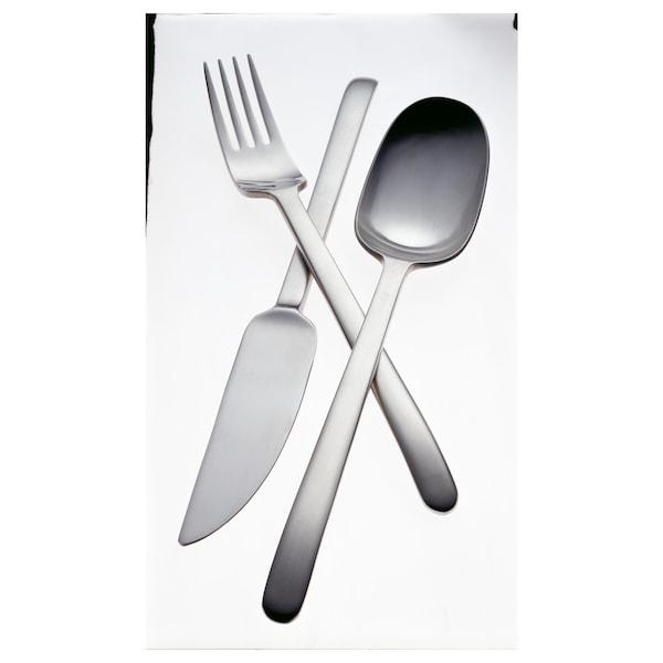 DATA 24-piece cutlery set, stainless steel