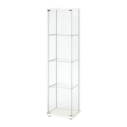 Detolf Glass Door Cabinet White Ikea