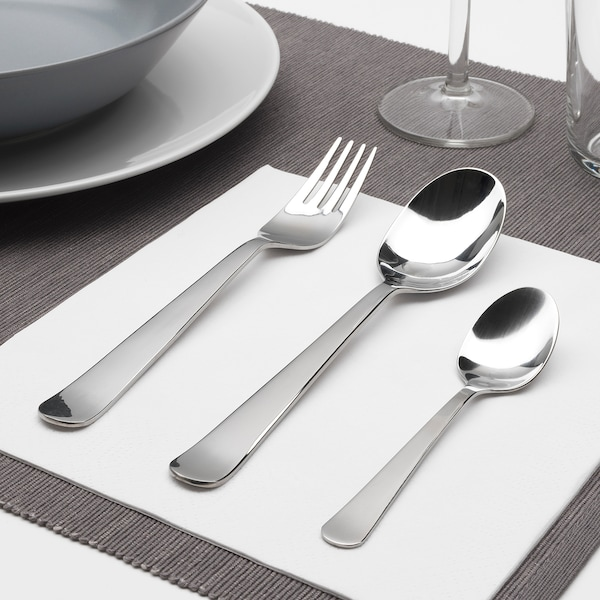 DRAGON 18-piece cutlery set, stainless steel