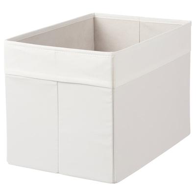 DRÖNA Box, white, 25x35x25 cm