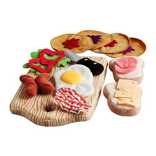 DUKTIG 15-piece breakfast set IKEA Encourages role play; children develop social skills by imitating grown-ups and inventing their own roles.