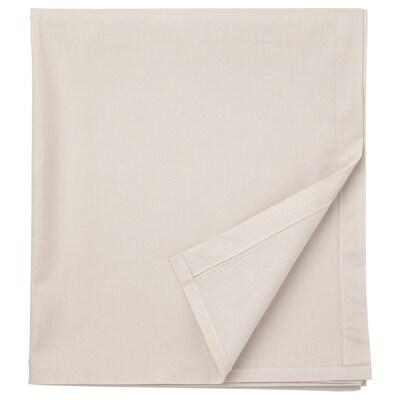 DVALA Sheet, beige, 240x260 cm