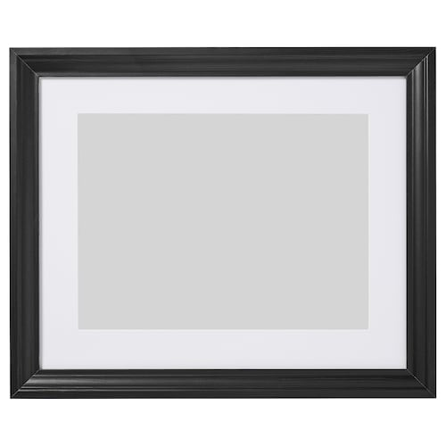 EDSBRUK frame black stained 40 cm 50 cm 30 cm 40 cm 29 cm 39 cm 47 cm 57 cm