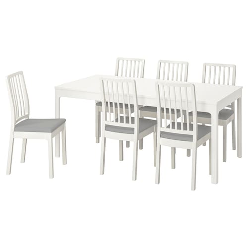IKEA EKEDALEN / EKEDALEN Table and 6 chairs