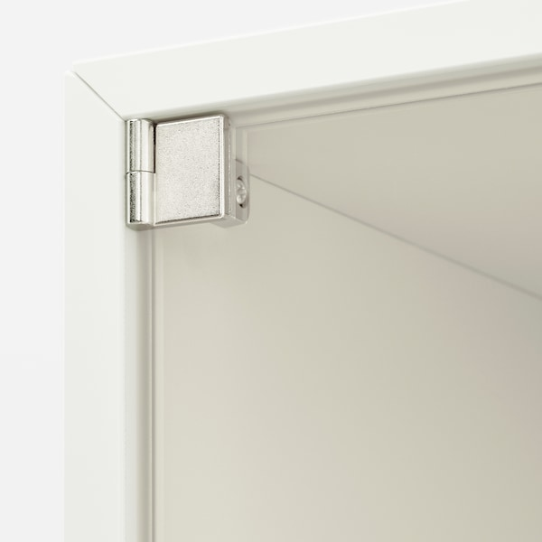 EKET Wall cabinet with glass door, white, 35x35x35 cm