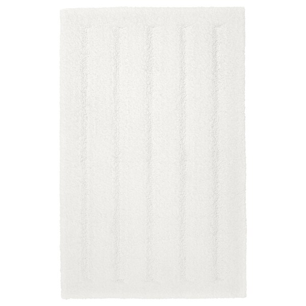 EMTEN bath mat white 80 cm 50 cm 0.40 m²
