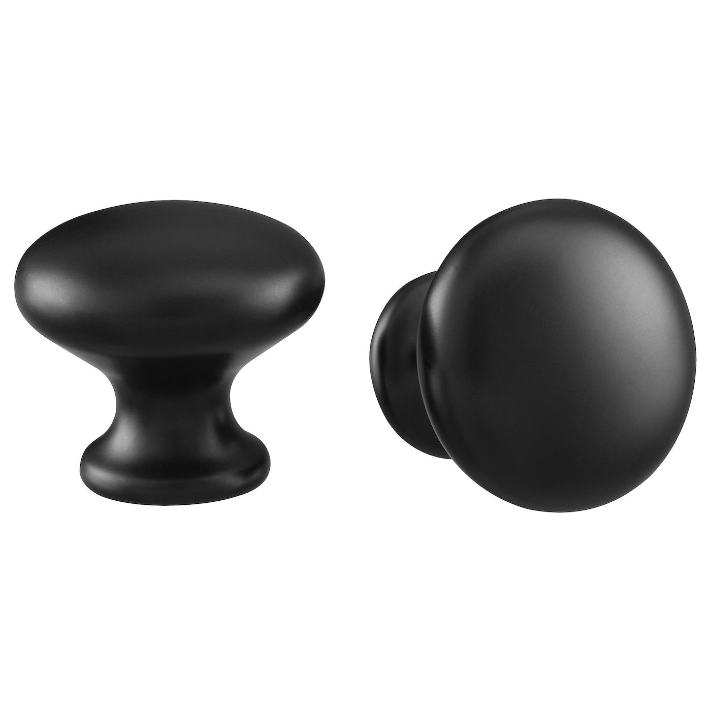 ENERYDA Knob - black - IKEA