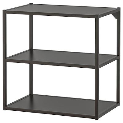 ENHET Base fr w shelves, anthracite, 60x40x60 cm