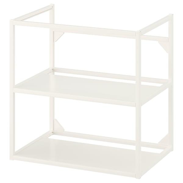ENHET Base frame for washbasin, white, 60x40x60 cm