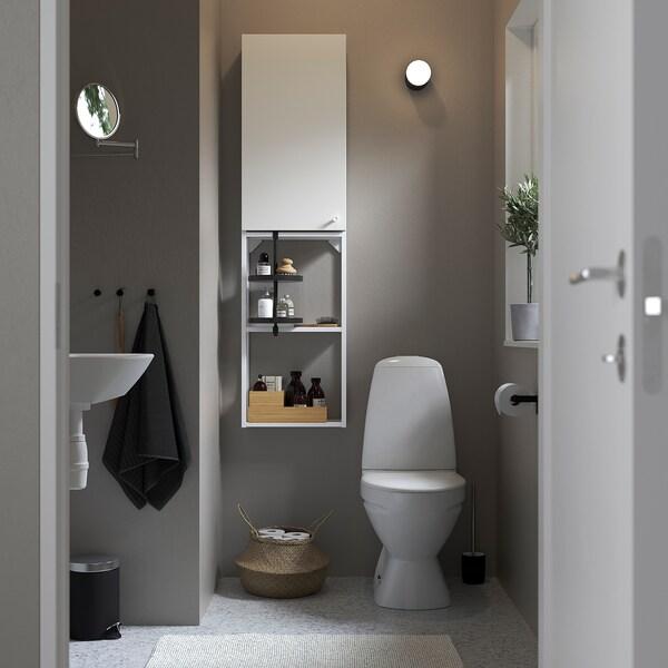 ENHET Wall storage combination, white, 40x17x150 cm