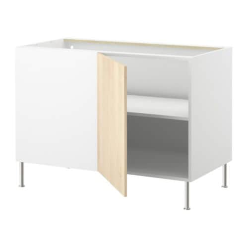 FAKTUM Corner base cabinet with shelf IKEA Adjustable shelf; adapt spacing according to need.