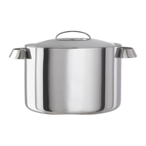 FAVORIT Pot with lid IKEA 25 year guarantee.   Read about the terms in the guarantee brochure.