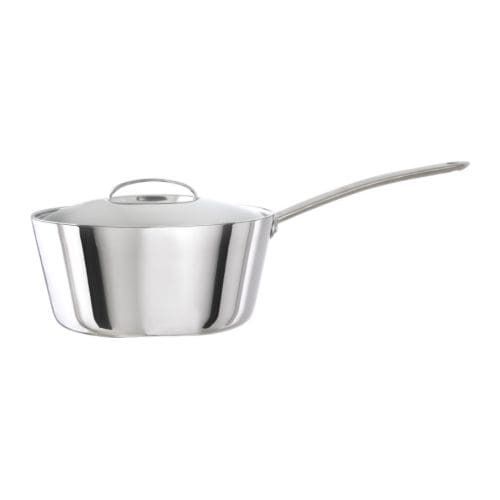 FAVORIT Sauteuse with lid IKEA 25 year guarantee.   Read about the terms in the guarantee brochure.