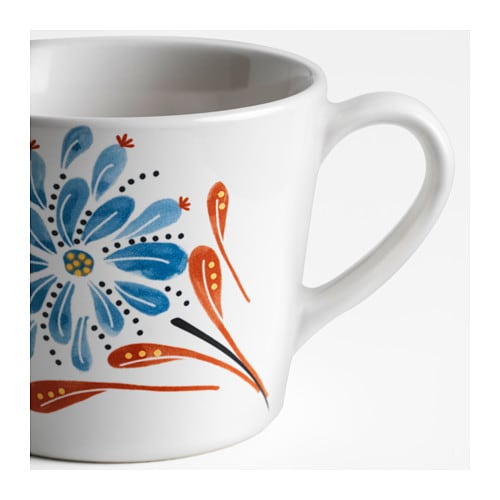 FINSTILT Mug IKEA Unique dinnerware with patterns, details and raised reliefs that exude tradition and craftsmanship.