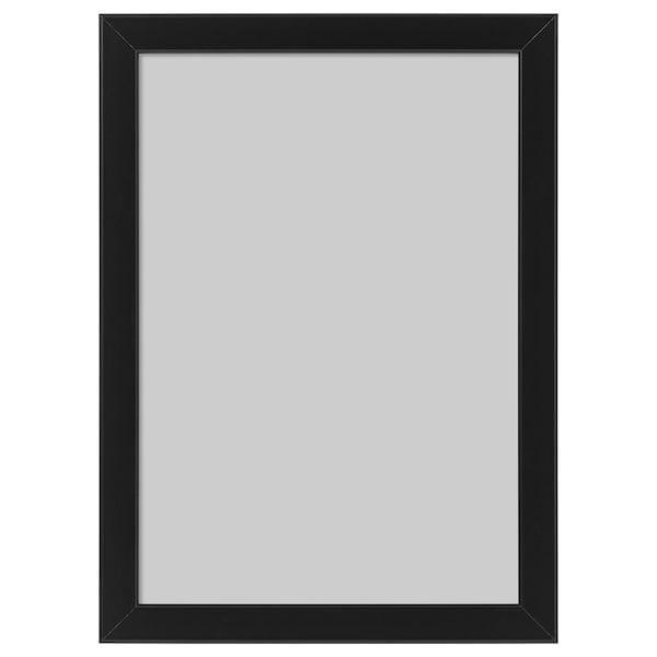 FISKBO Frame, black, 21x30 cm