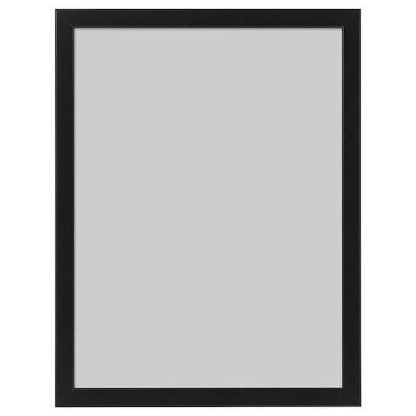FISKBO Frame, black, 30x40 cm