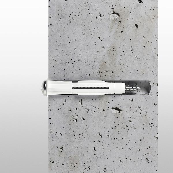 FIXA 260-piece screw and plug set