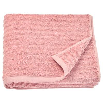 FLODALEN Bath towel, light pink, 70x140 cm