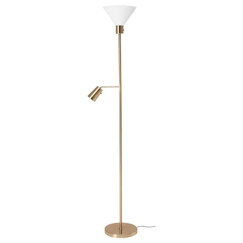 IKEA FLUGBO Floor uplighter/reading lamp